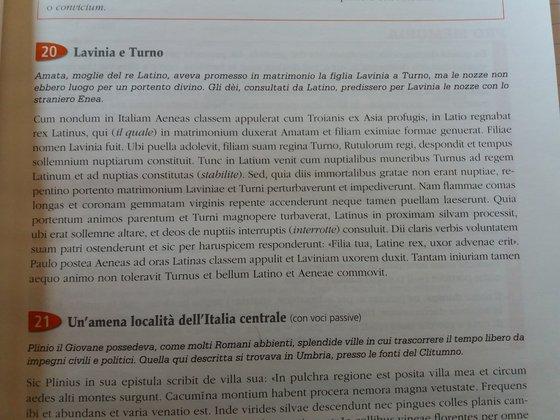 Il Matrimonio Romano Versione Latino : Unamena località dellitalia centrale u2022 latino e greco