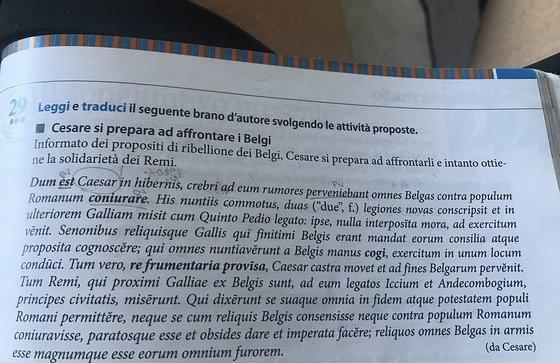 Cesare Si Prepara Ad Affrontare I Belgi Versione Il Mio Latino